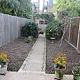 Twickenham garden, ready for planting up