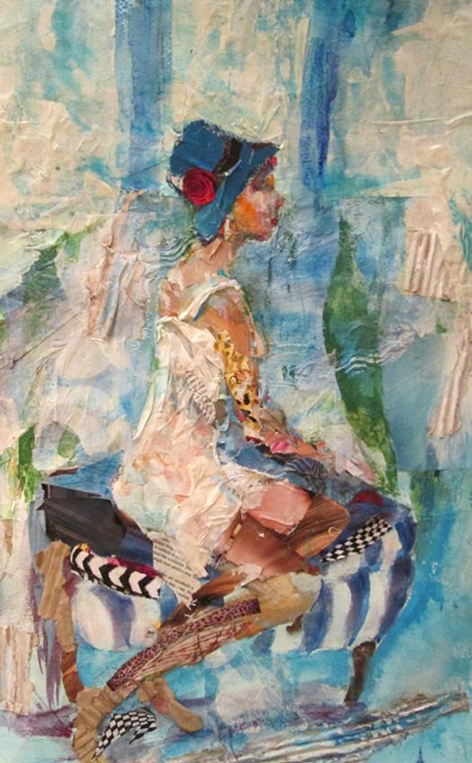 9 Collage-girl in blue hat-caroline sayer-700x1130