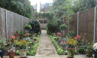 Chantal's garden after