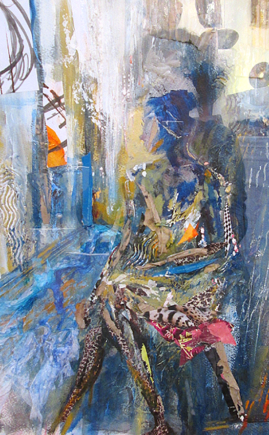 16 Collage-Seated figure-SOLD-caroline sayer-700x1130
