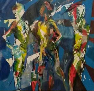 Collage - Three figures