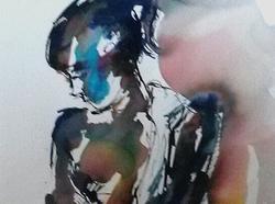5 Standing figure turquoise blues-caroline-sayer-700x520