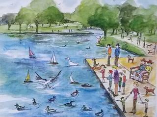 10 Boating Lake Bushy Park-700x520