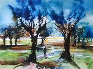 7 Winter Walk, Richmond Park-700x520