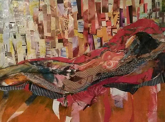 10 Collage - girl on orange divan-caroline sayer-700x520