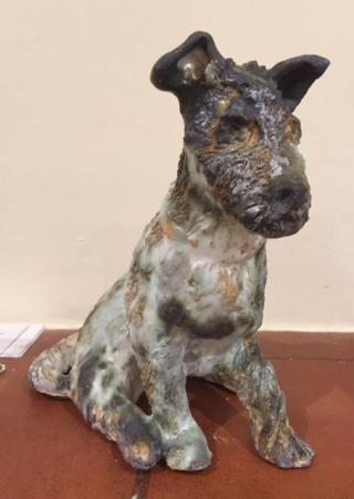 Sculpture Terrier