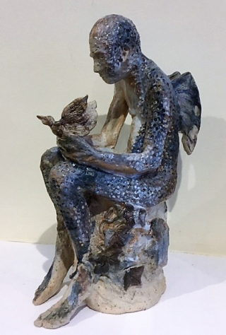 Sculpture Dreaming of Flight