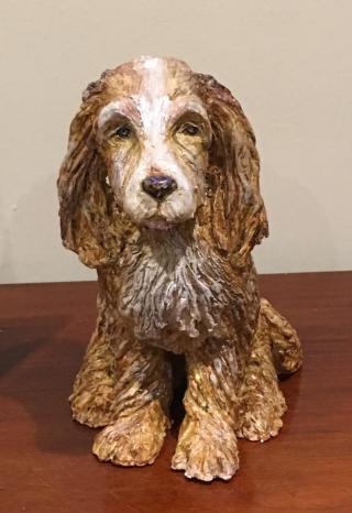 Sculpture dog commission