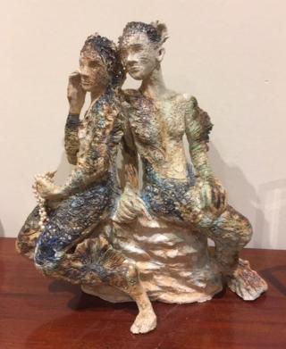 Mermaid Metamorphosis  sculpture